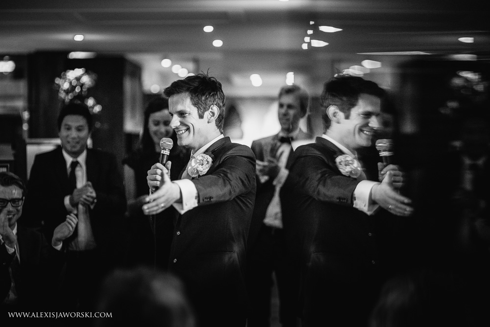 Groom speech at the 8 club moorgate