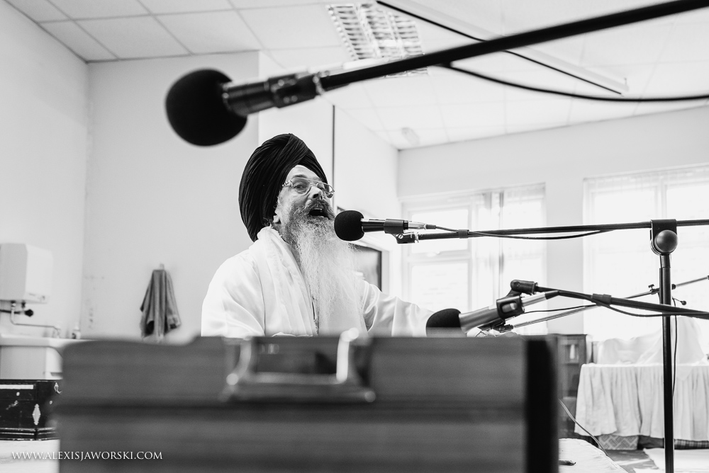 Musicians at Leicester Gurdwara