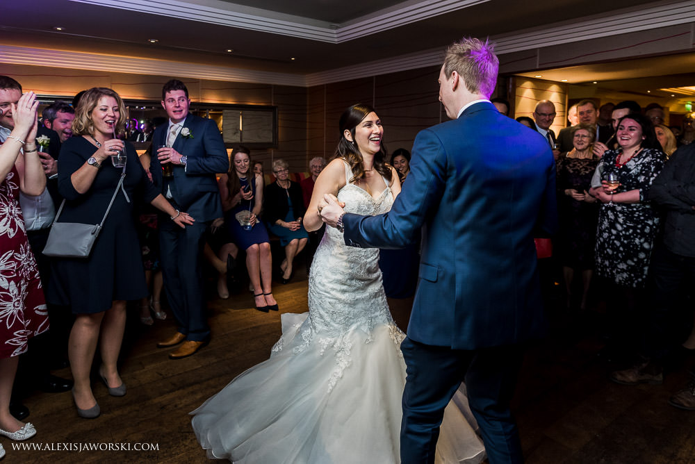 First Dance at the forbury Hotel