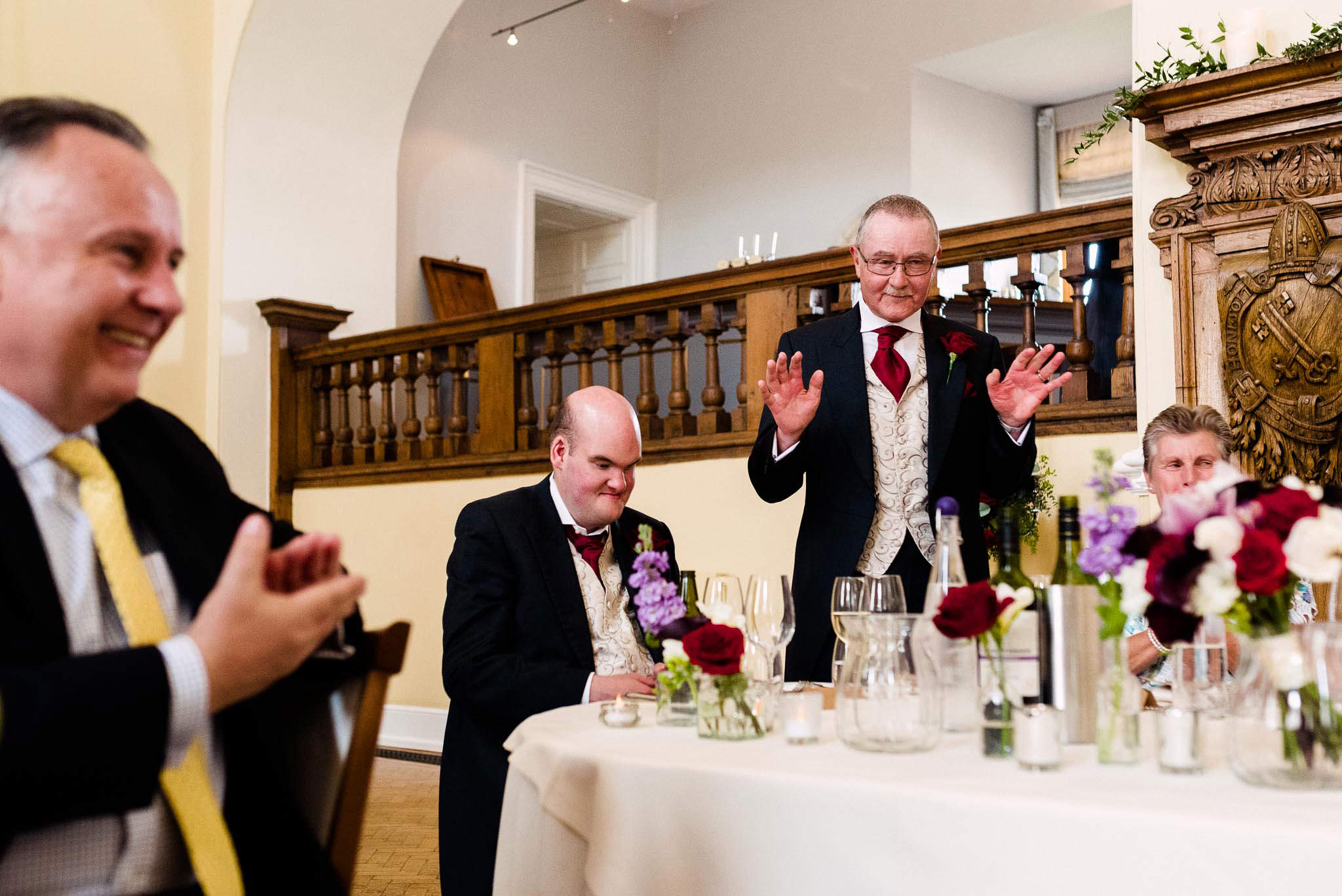 Farnham Castle Wedding Photos-353