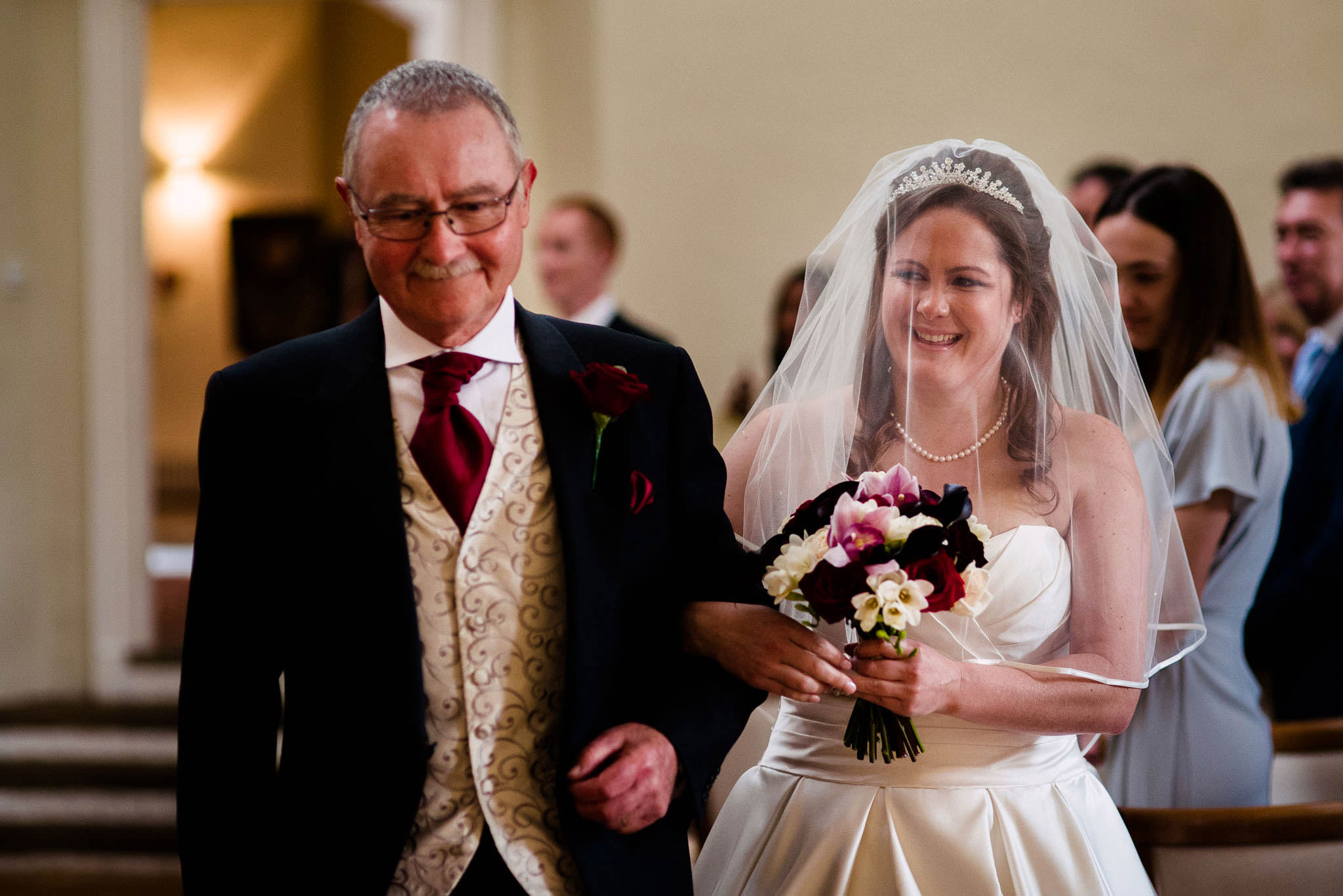 Farnham Castle Wedding Photos-96