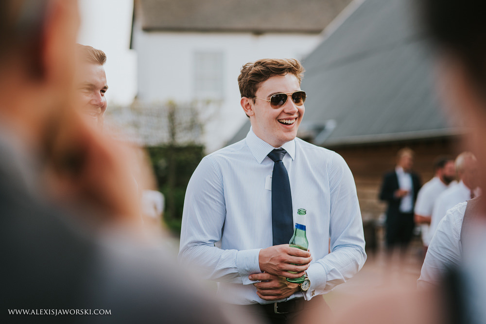candid portrait of a guest
