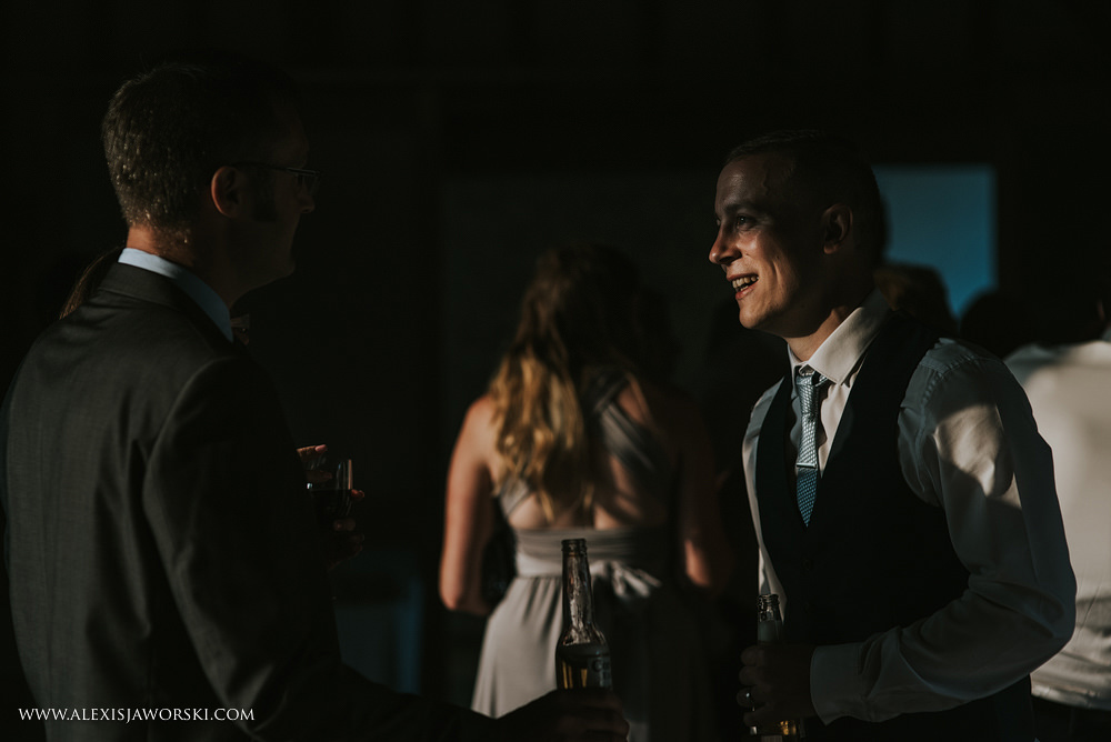 lovely candid portrait of guest