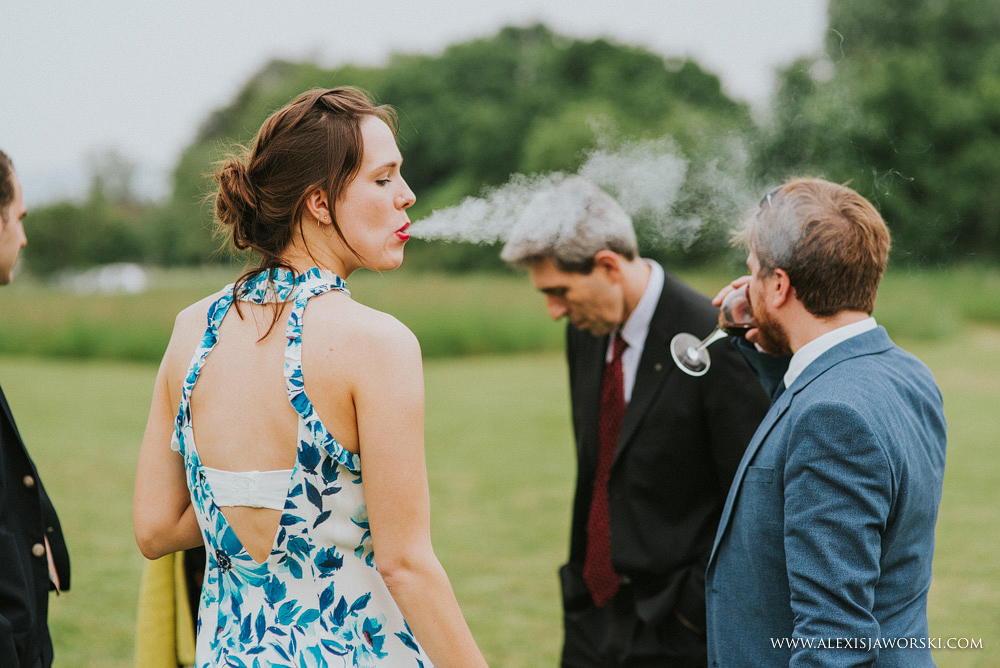 guests smoking