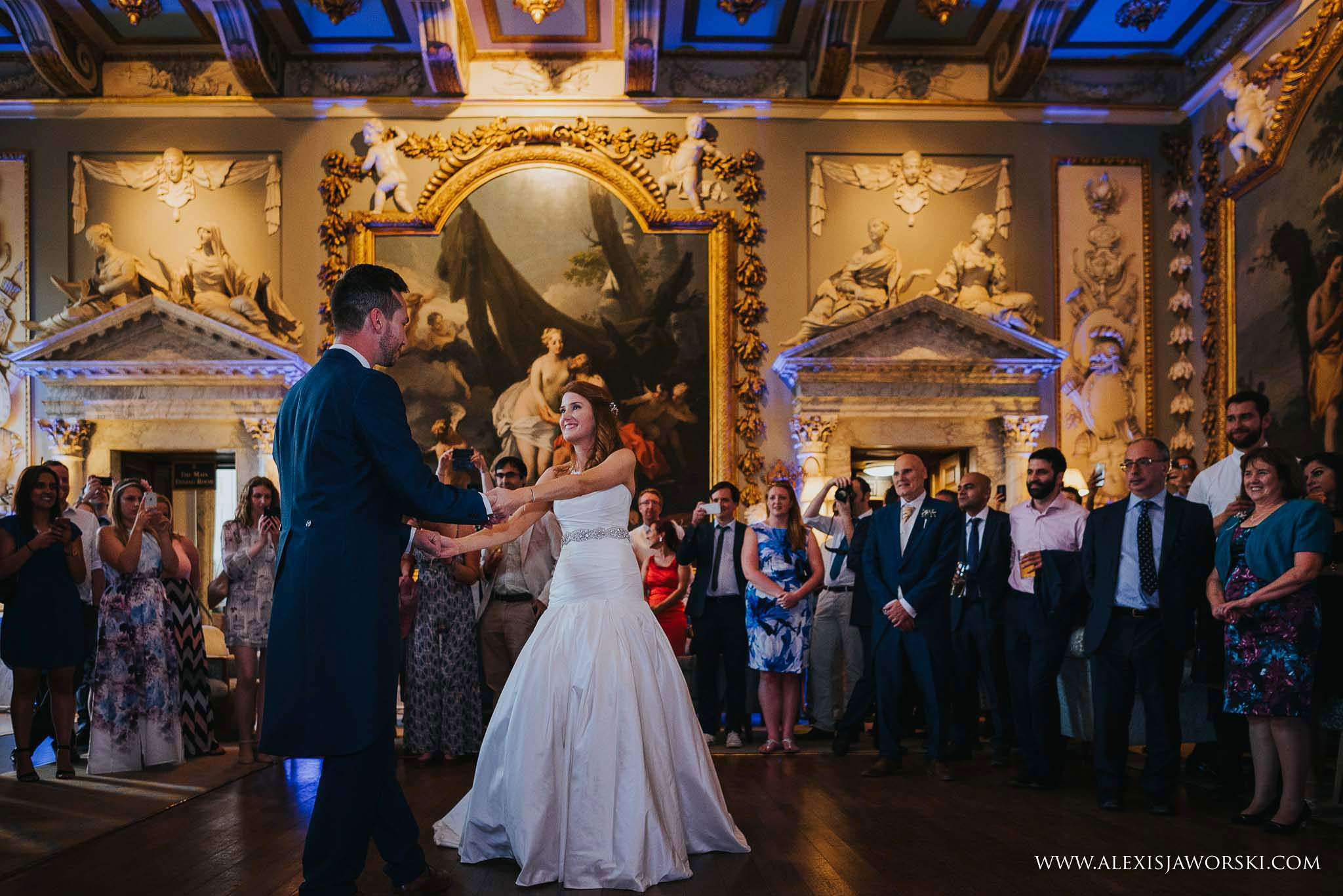 first dance at Moor Park