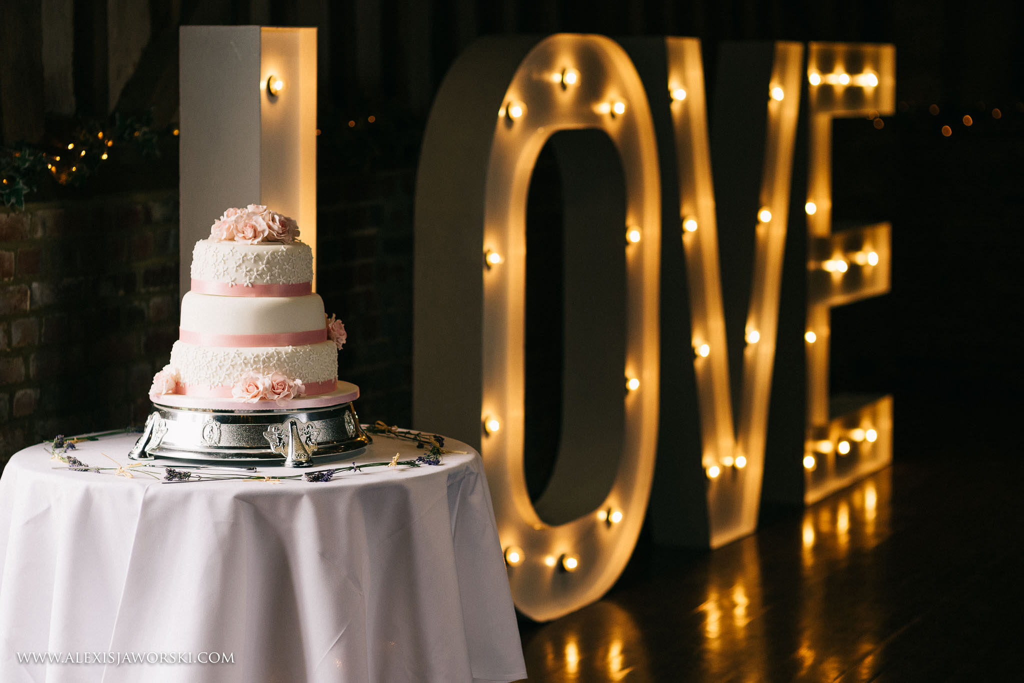 cake and love letters