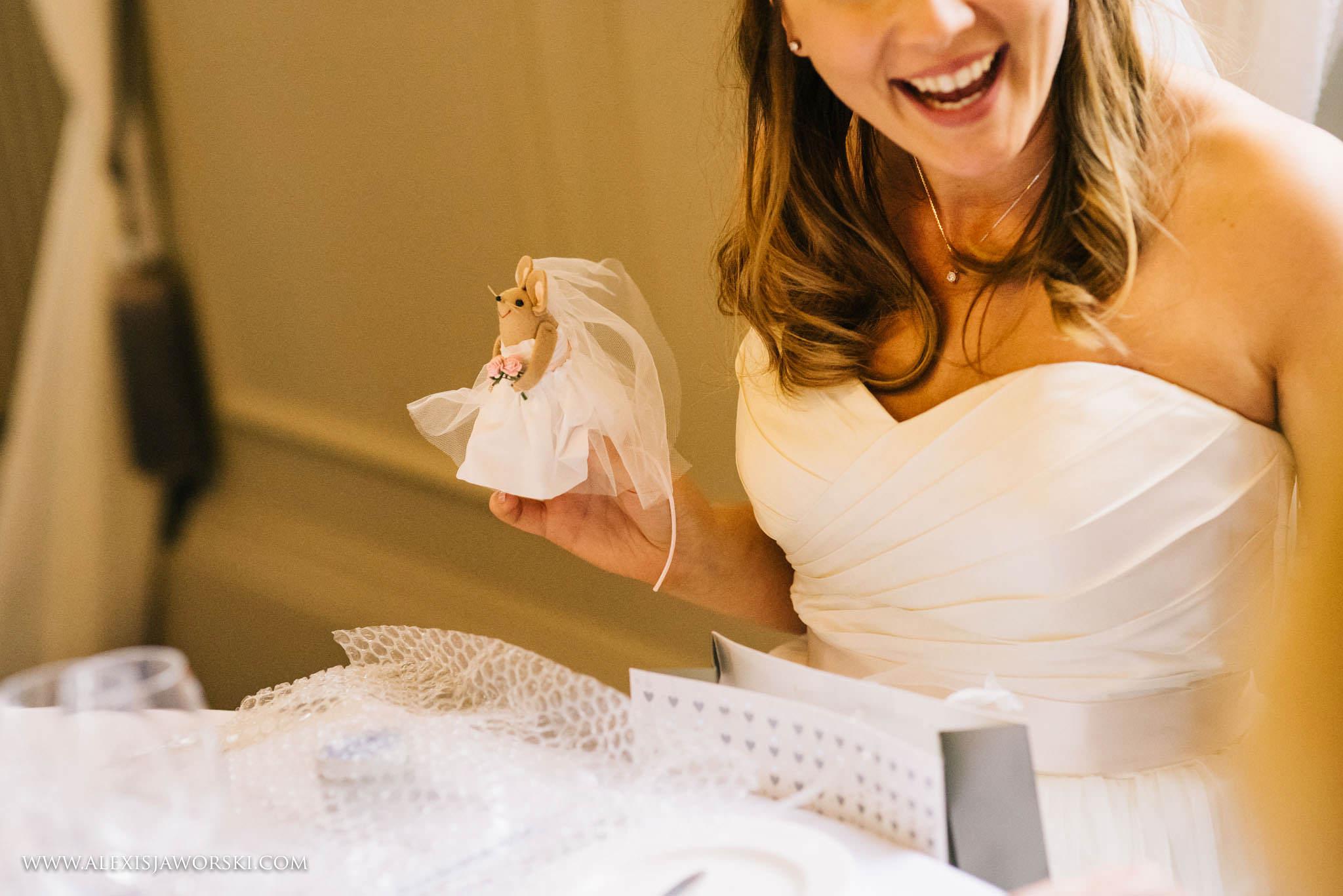 gorgeous bride smile