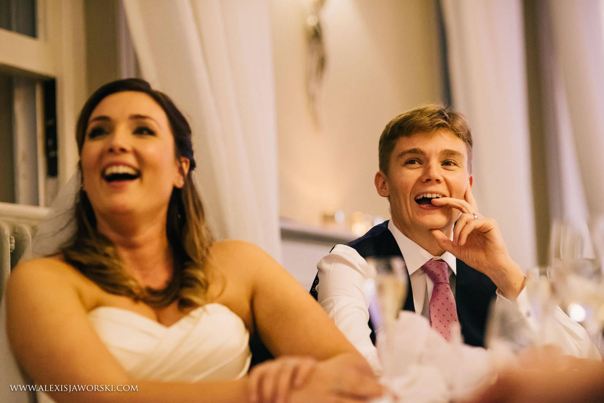 wedding speeches reaction
