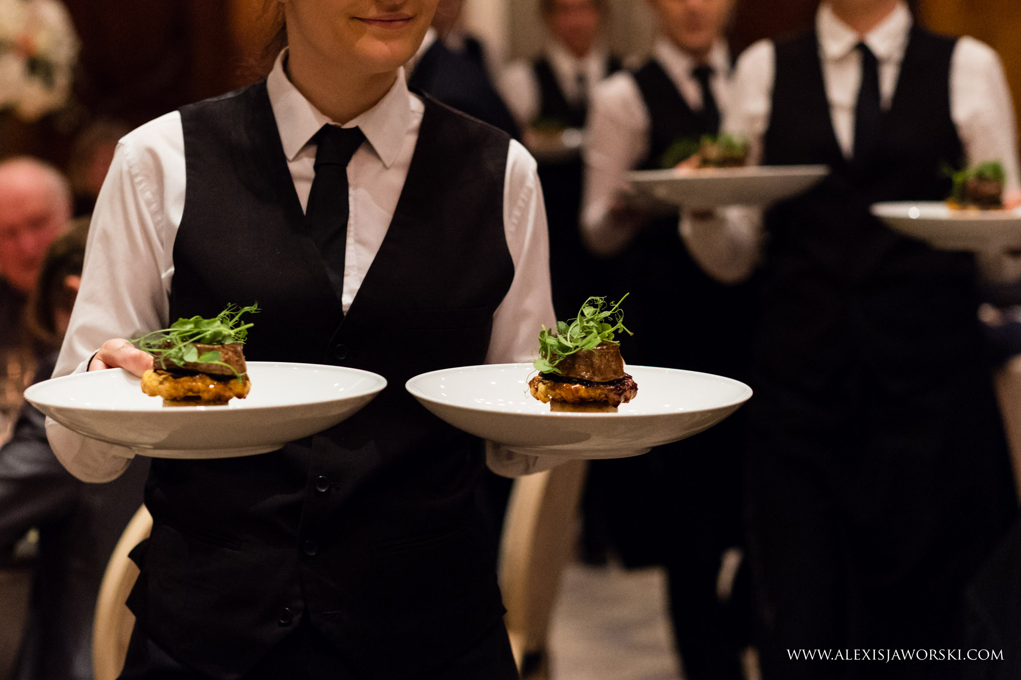 meal service - wedding breakfast