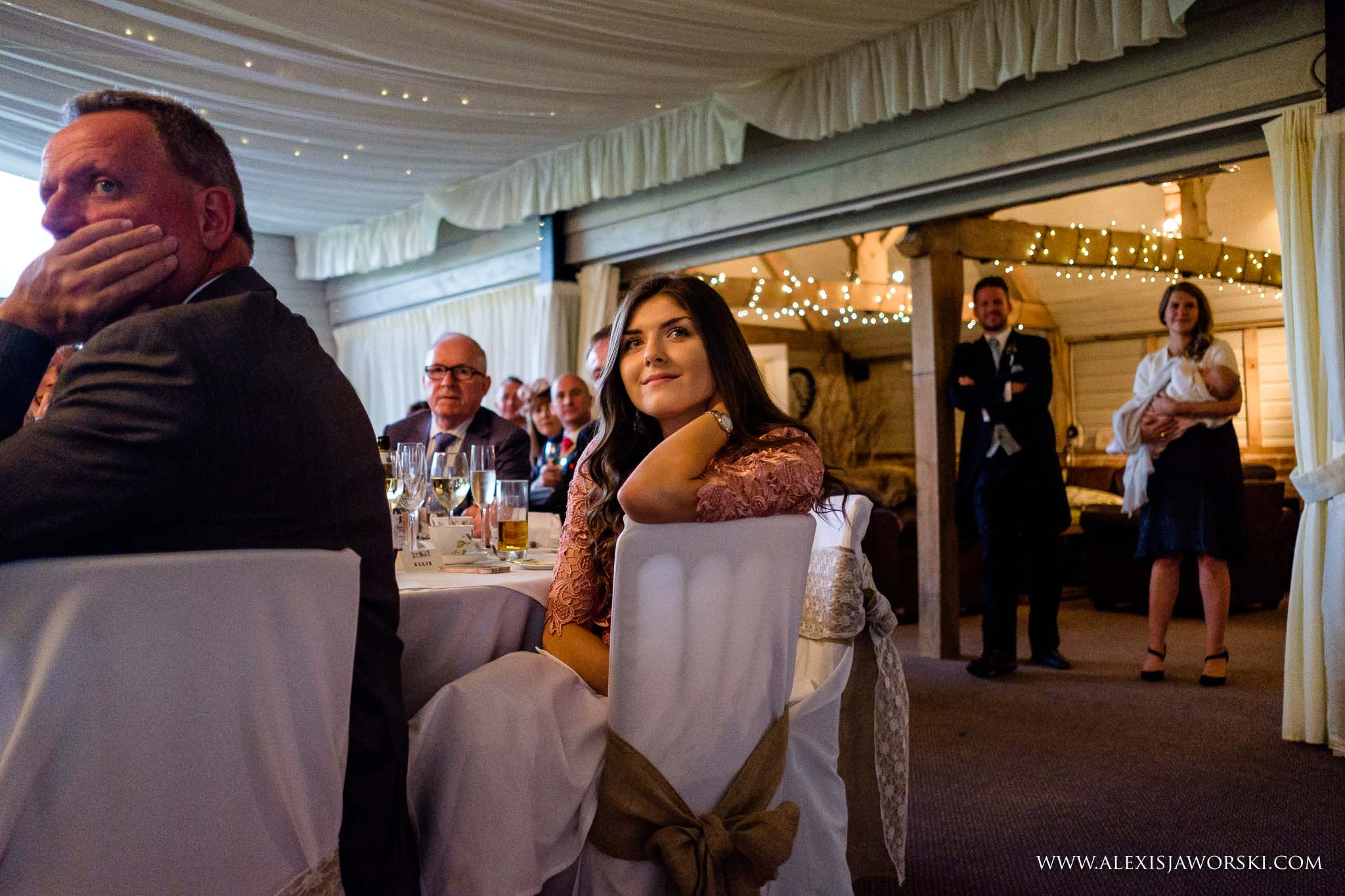 guests observing speeches