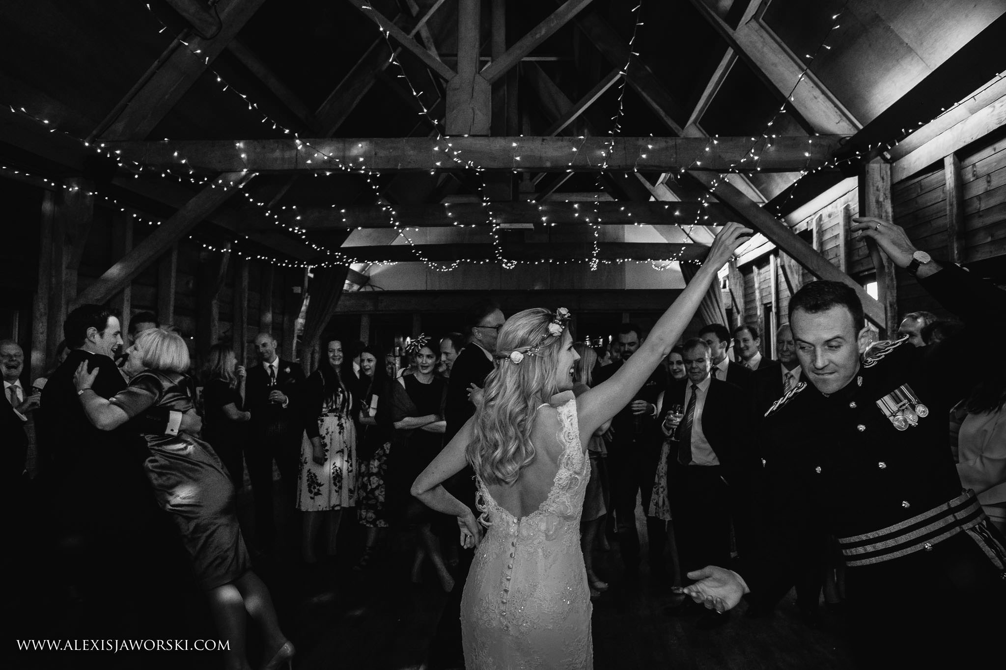 a spin by the groom