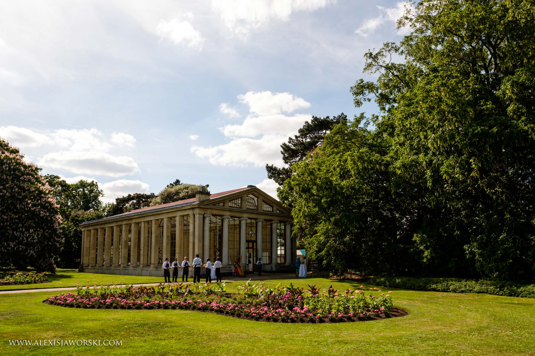 The Nash conservatory at Kew gardens
