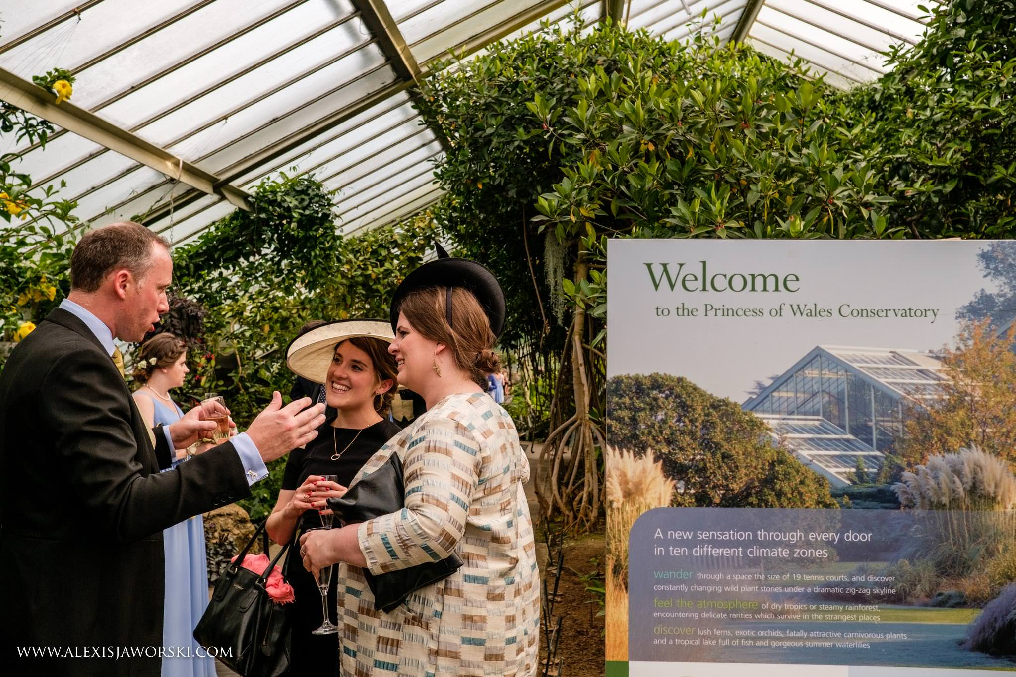 The princess of Wales Conservatory