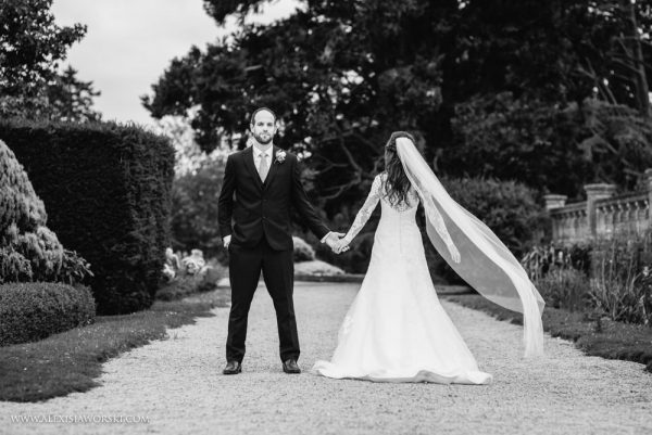 Eynsham Hall wedding portrait