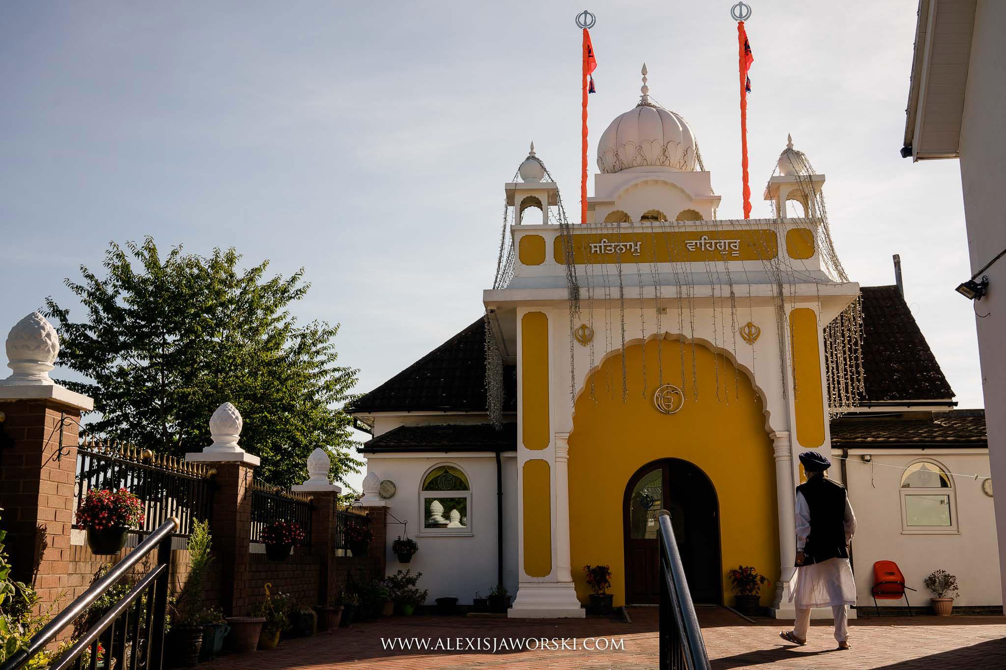 View of the gurwara