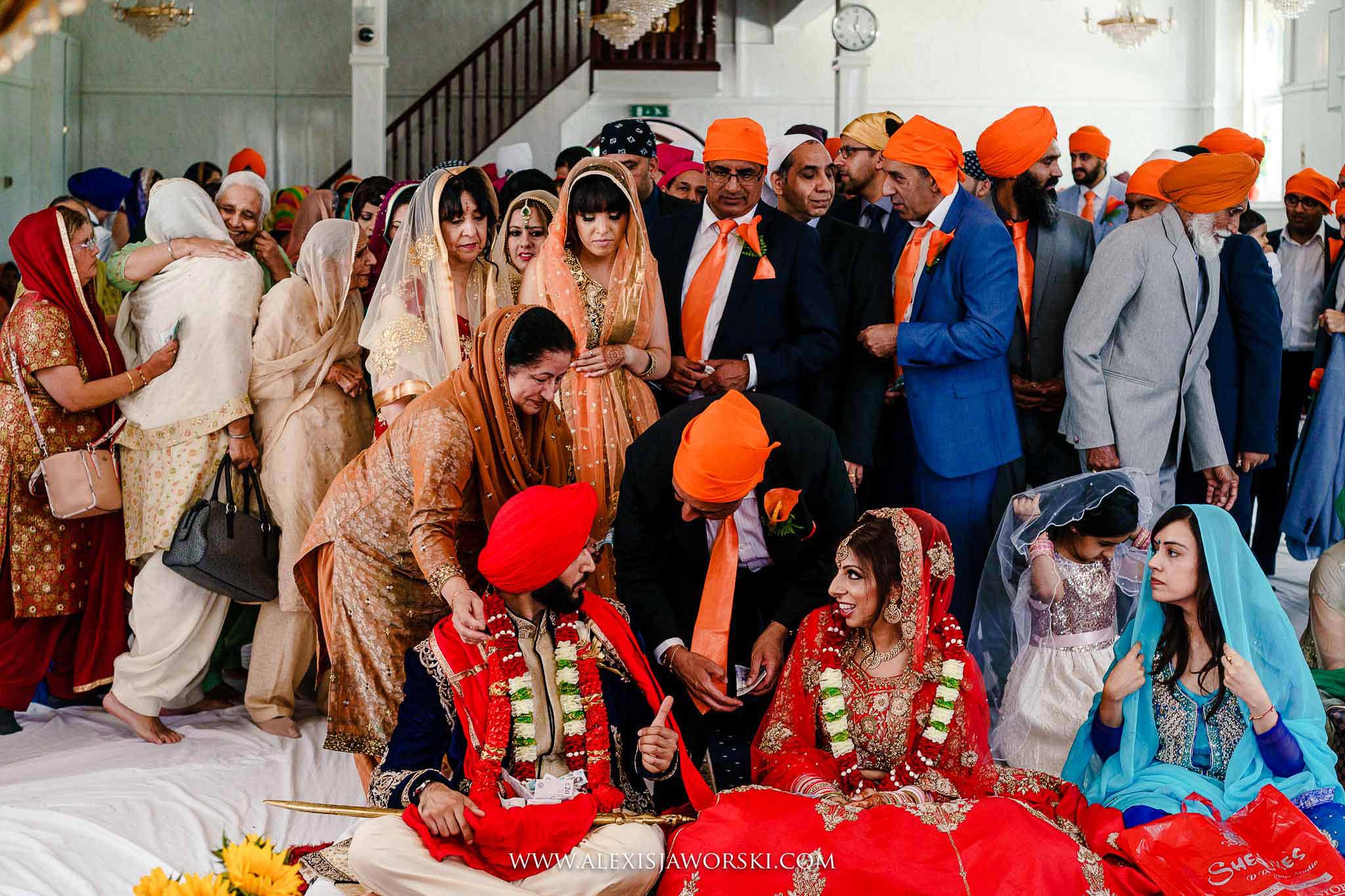 congratulations after ceremony