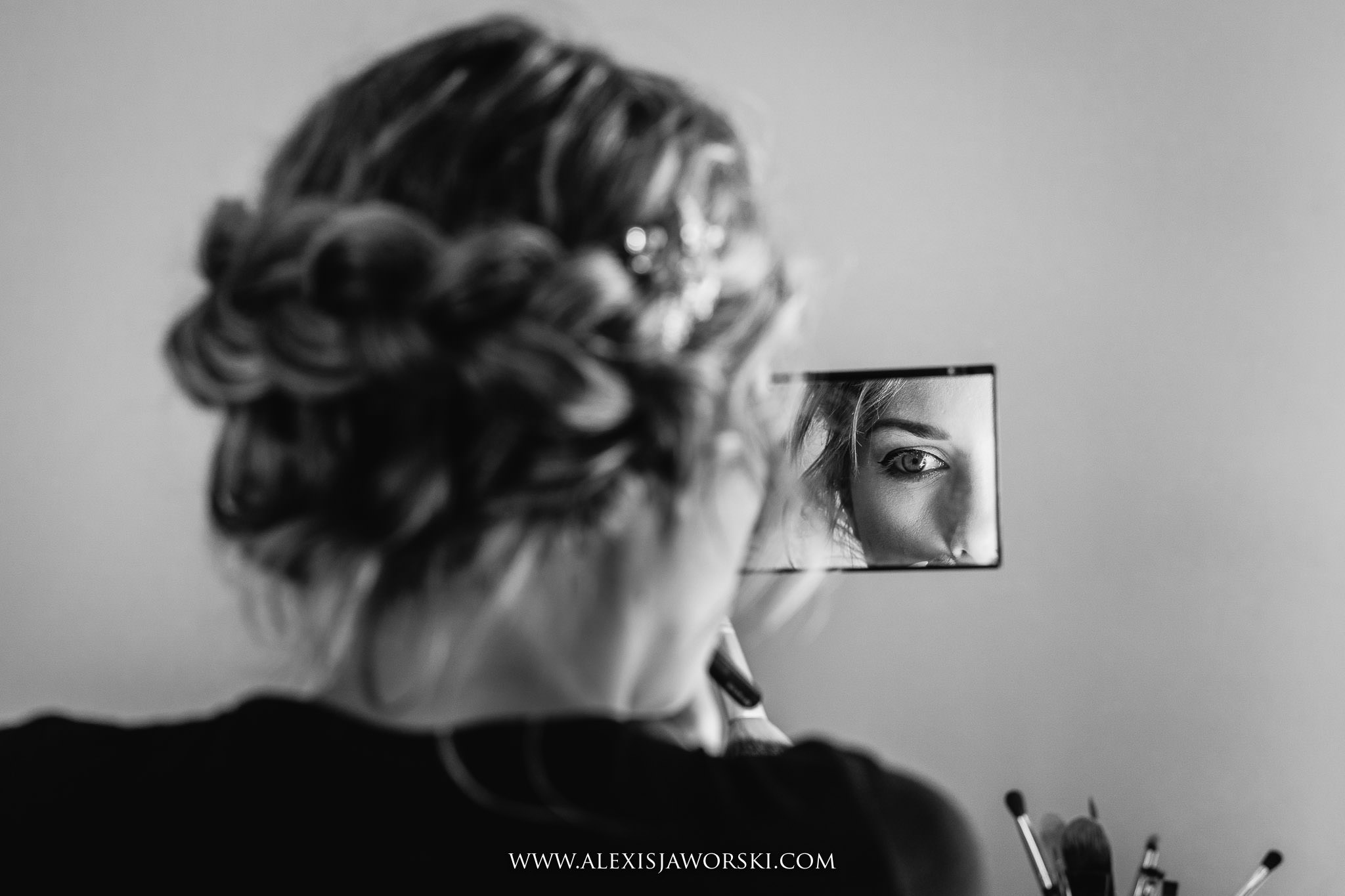 make up and mirror