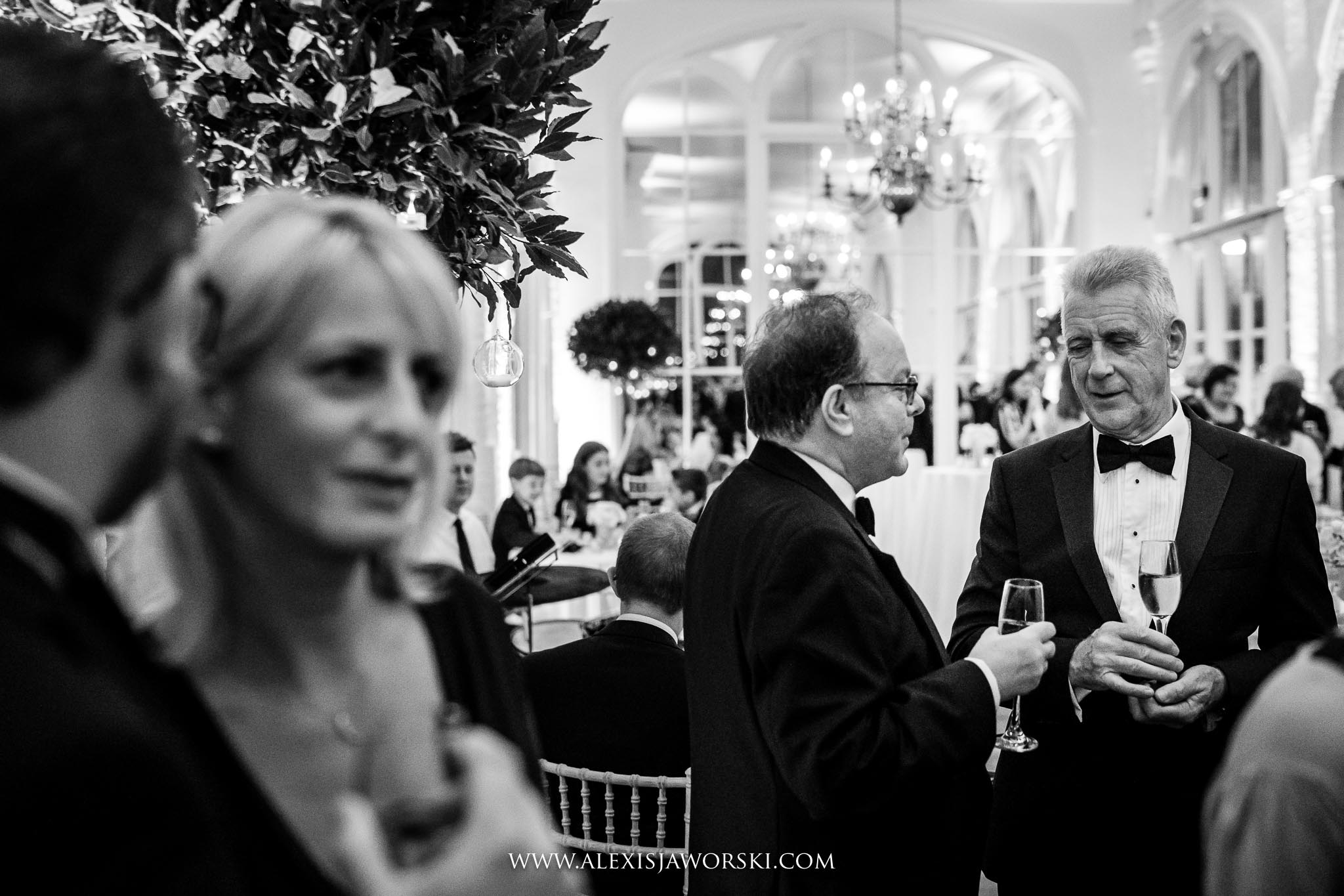 guests mingling