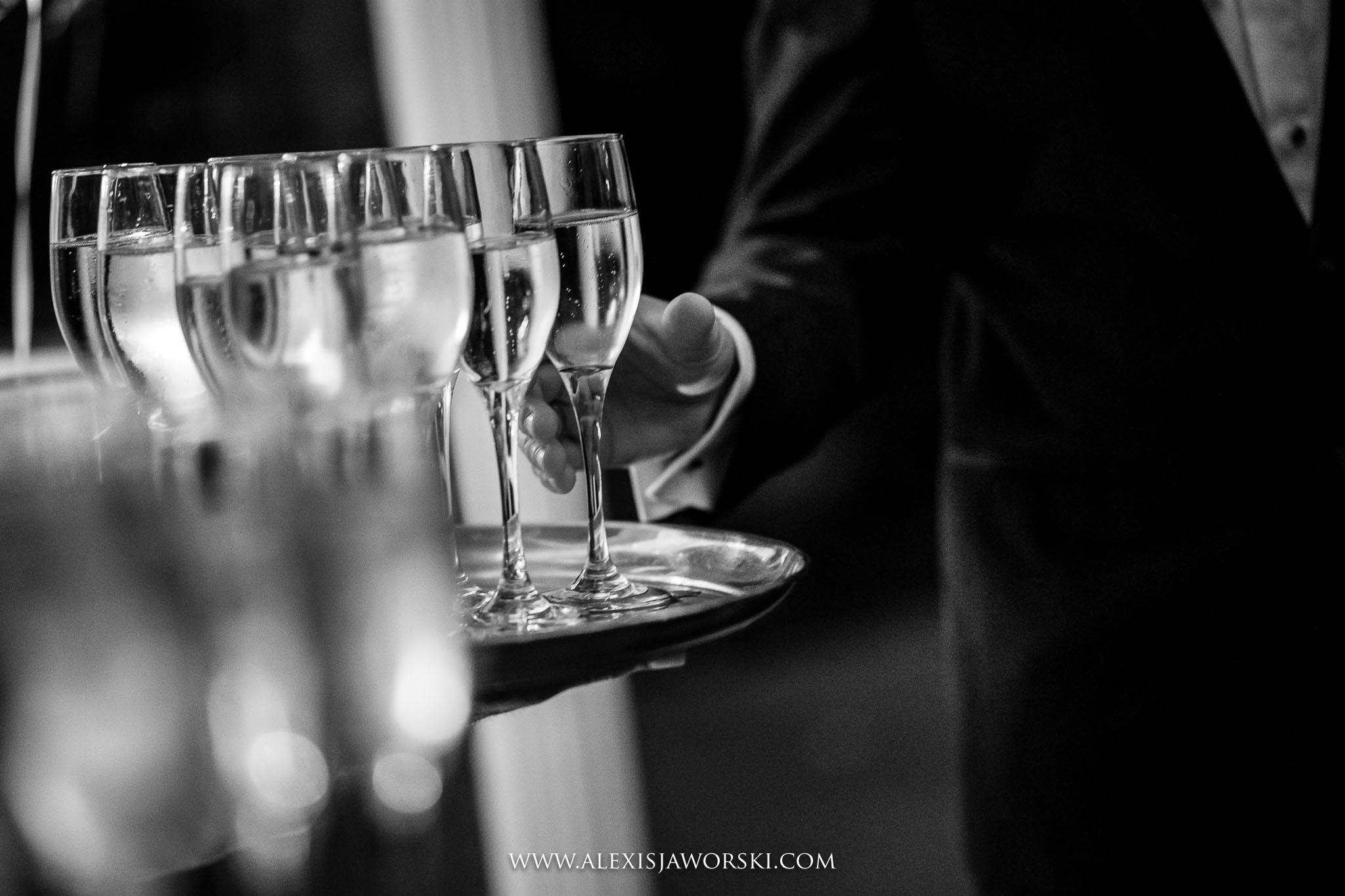 black tie drinks reception