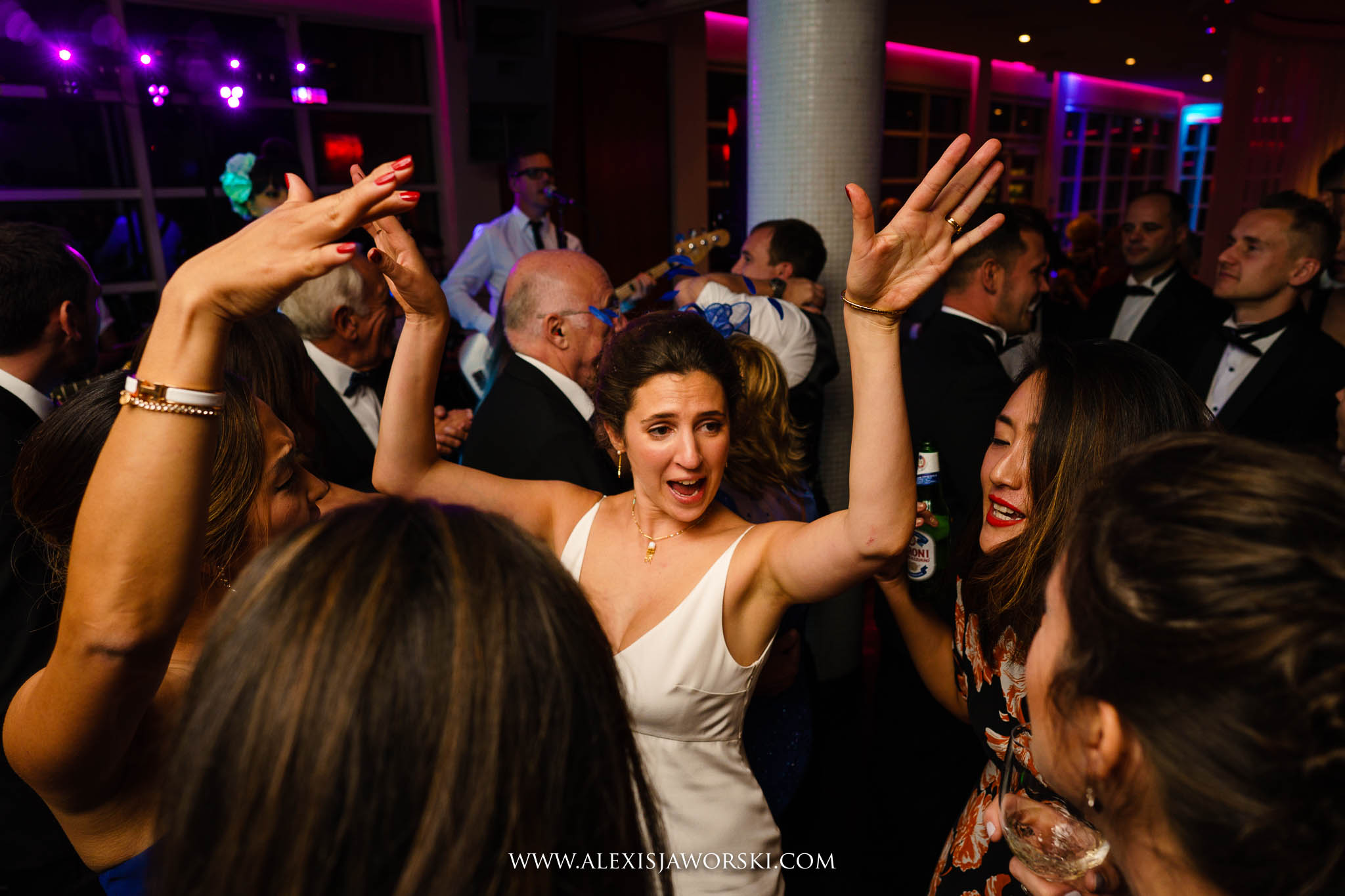 the wedding dance party