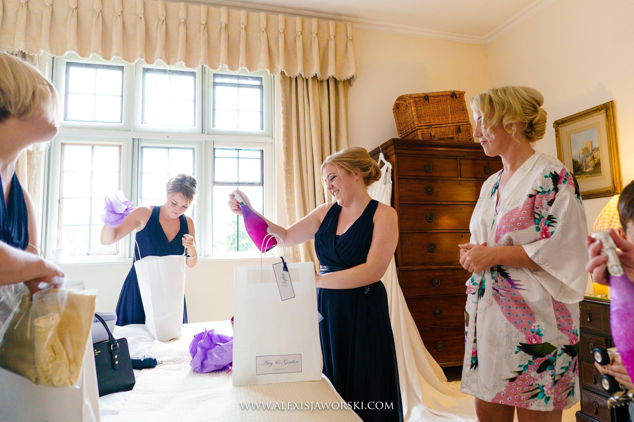 bridesmaids get presents