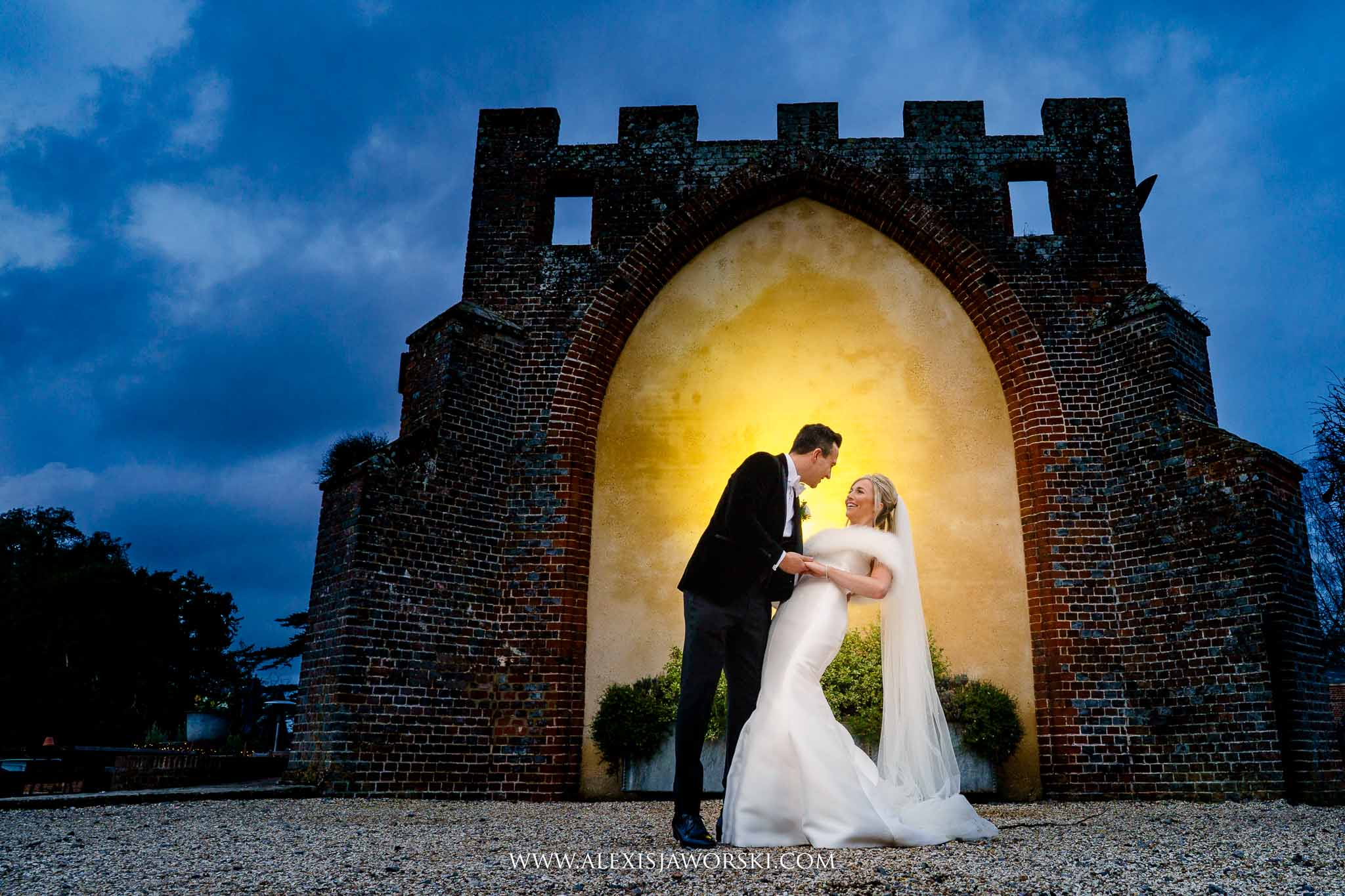 A creative portrait at the Castle Barn