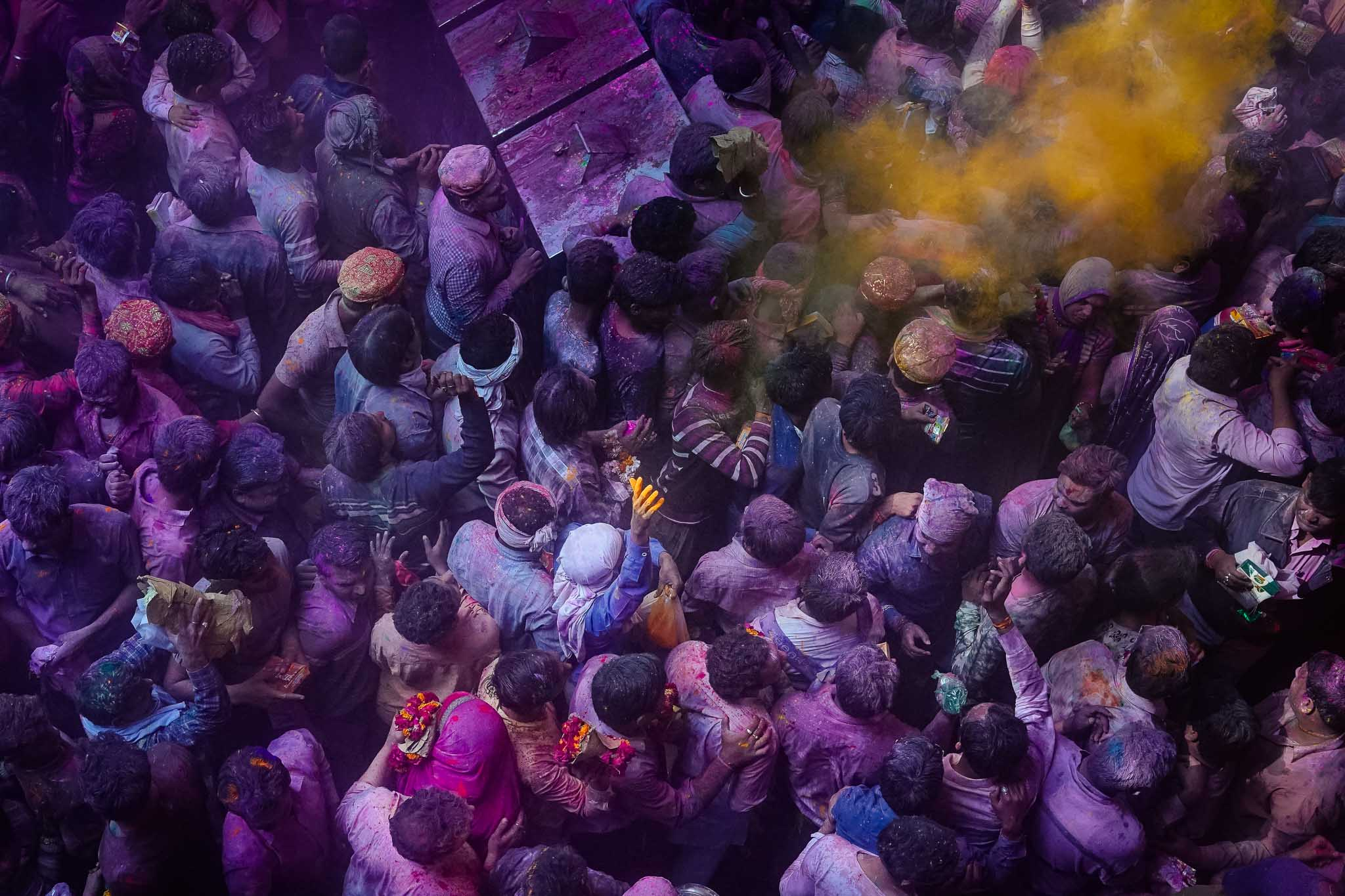 Holi Street Photography