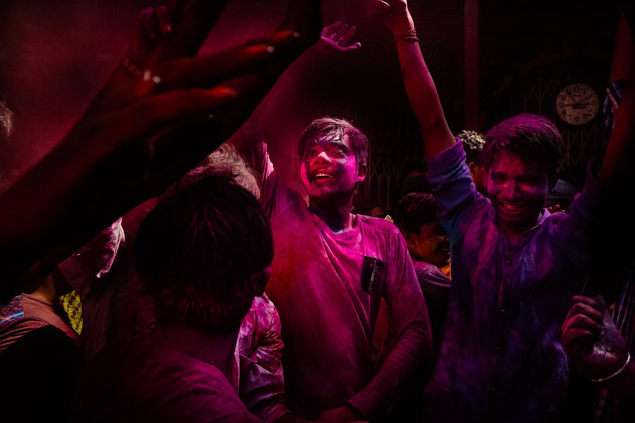 Holi Street Photography