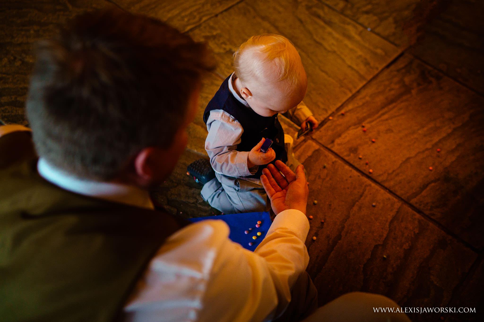 baby drops smarties