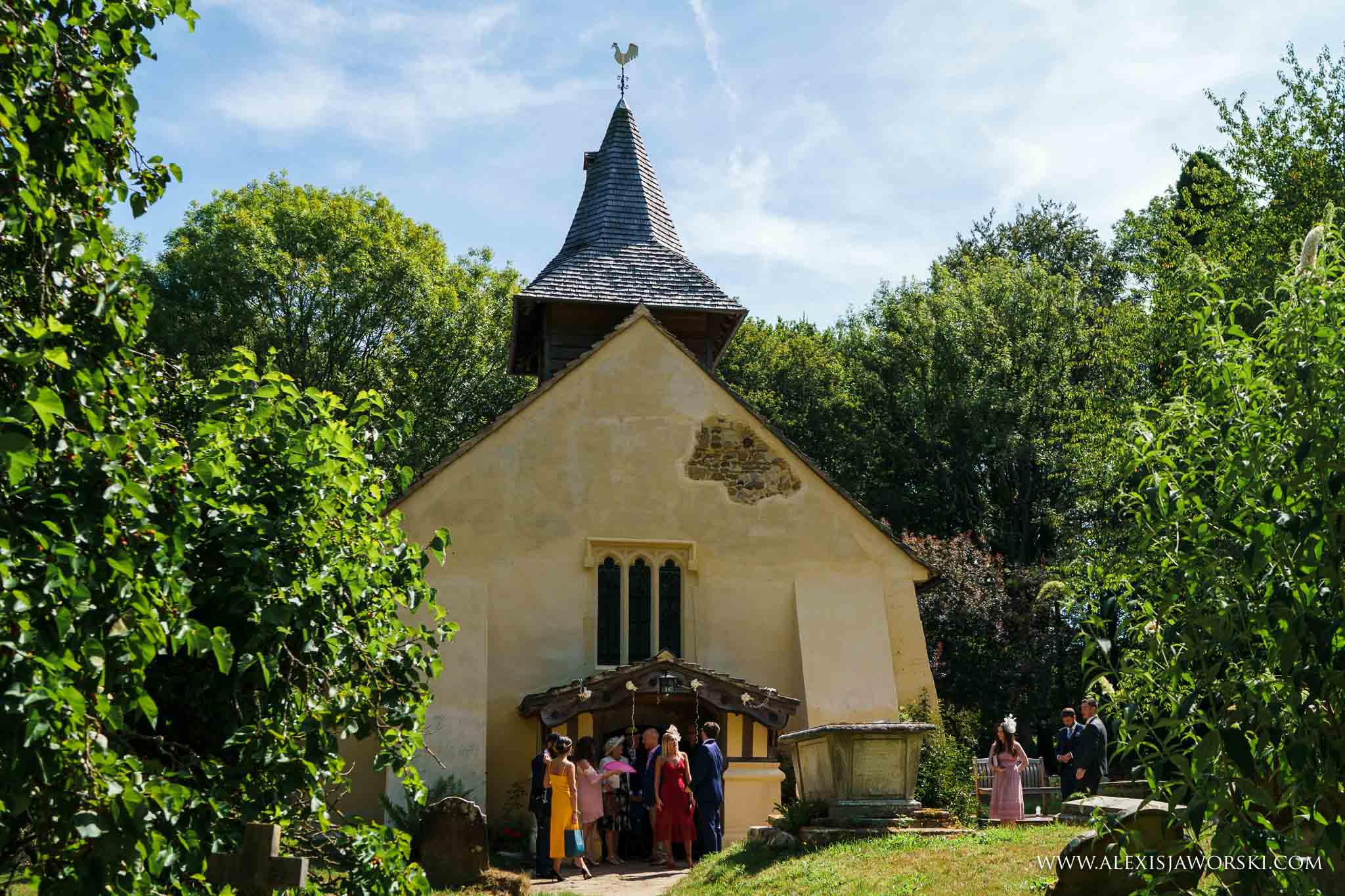 the wedding church