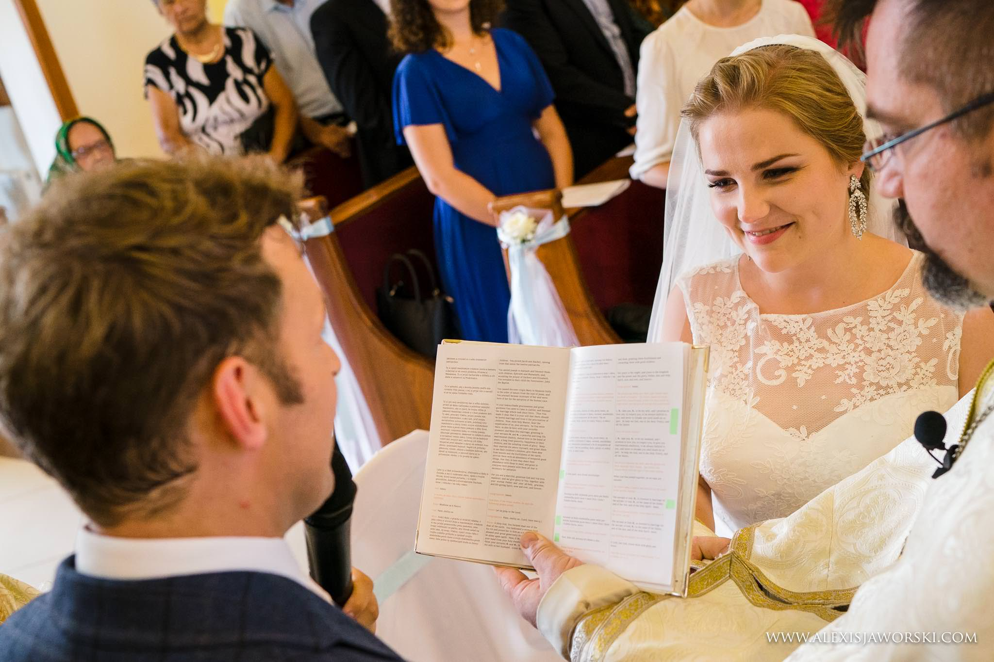 exchnage of vows