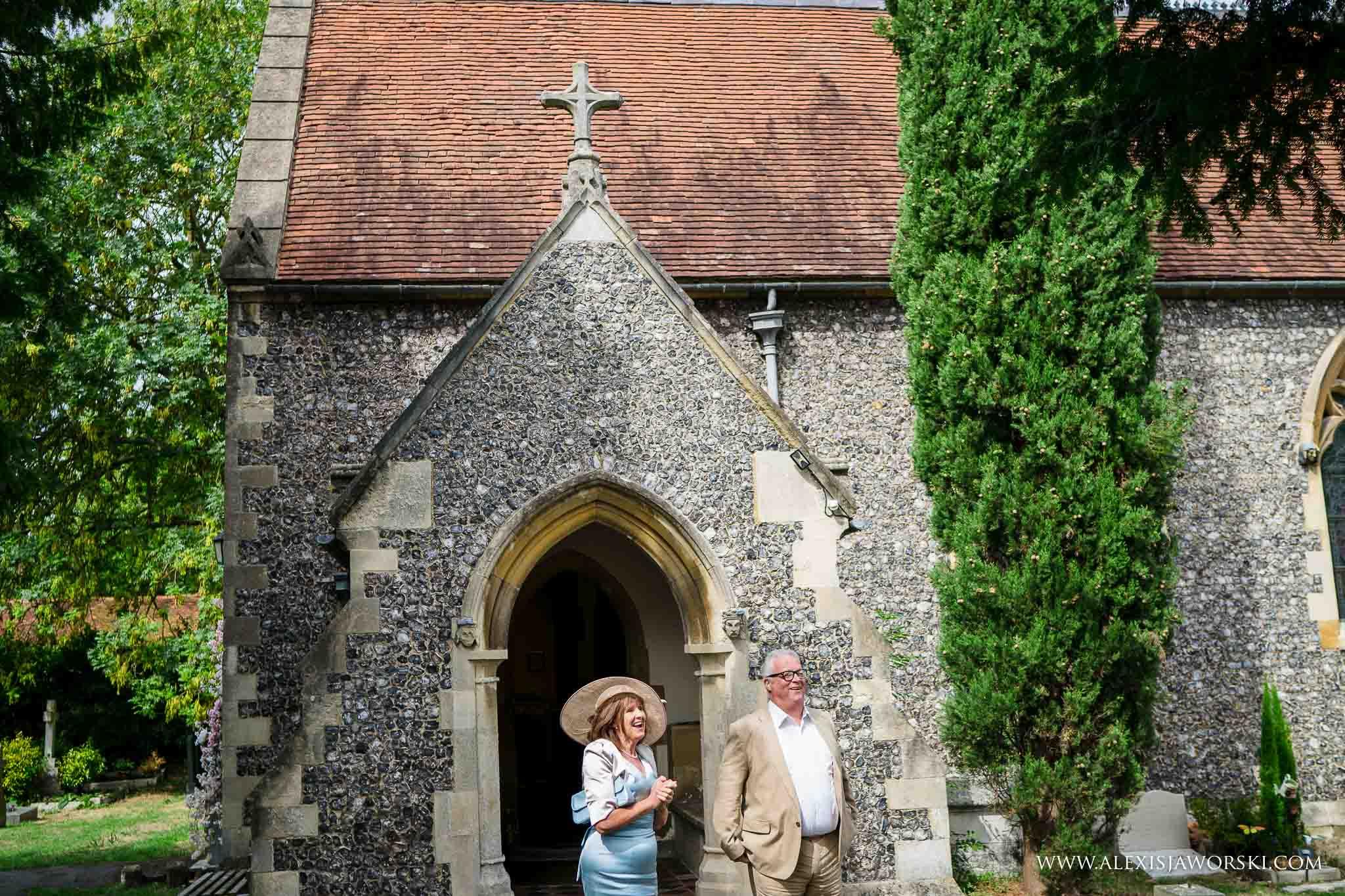 guests at church