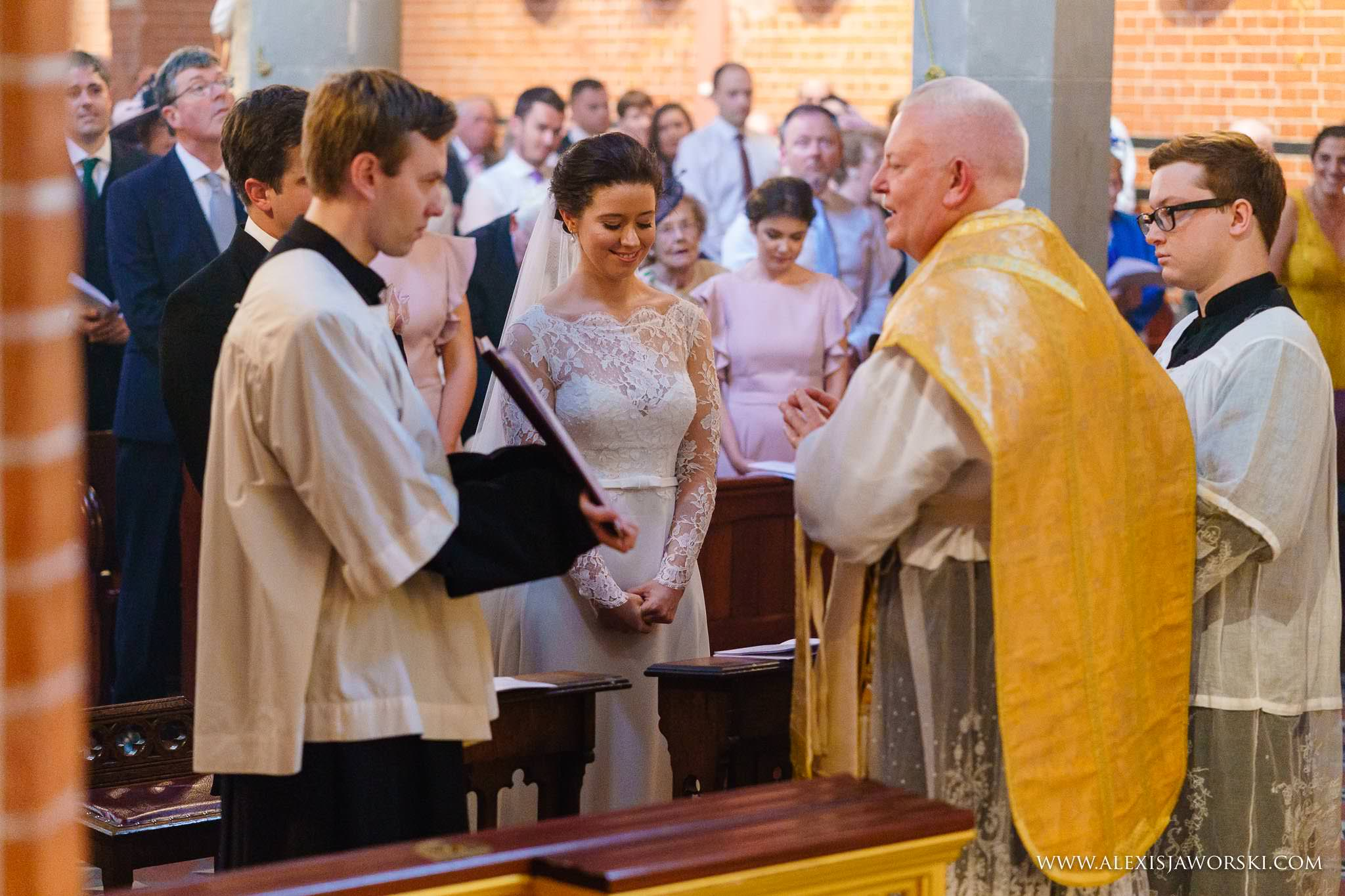 wedding ceremony at corpus christi