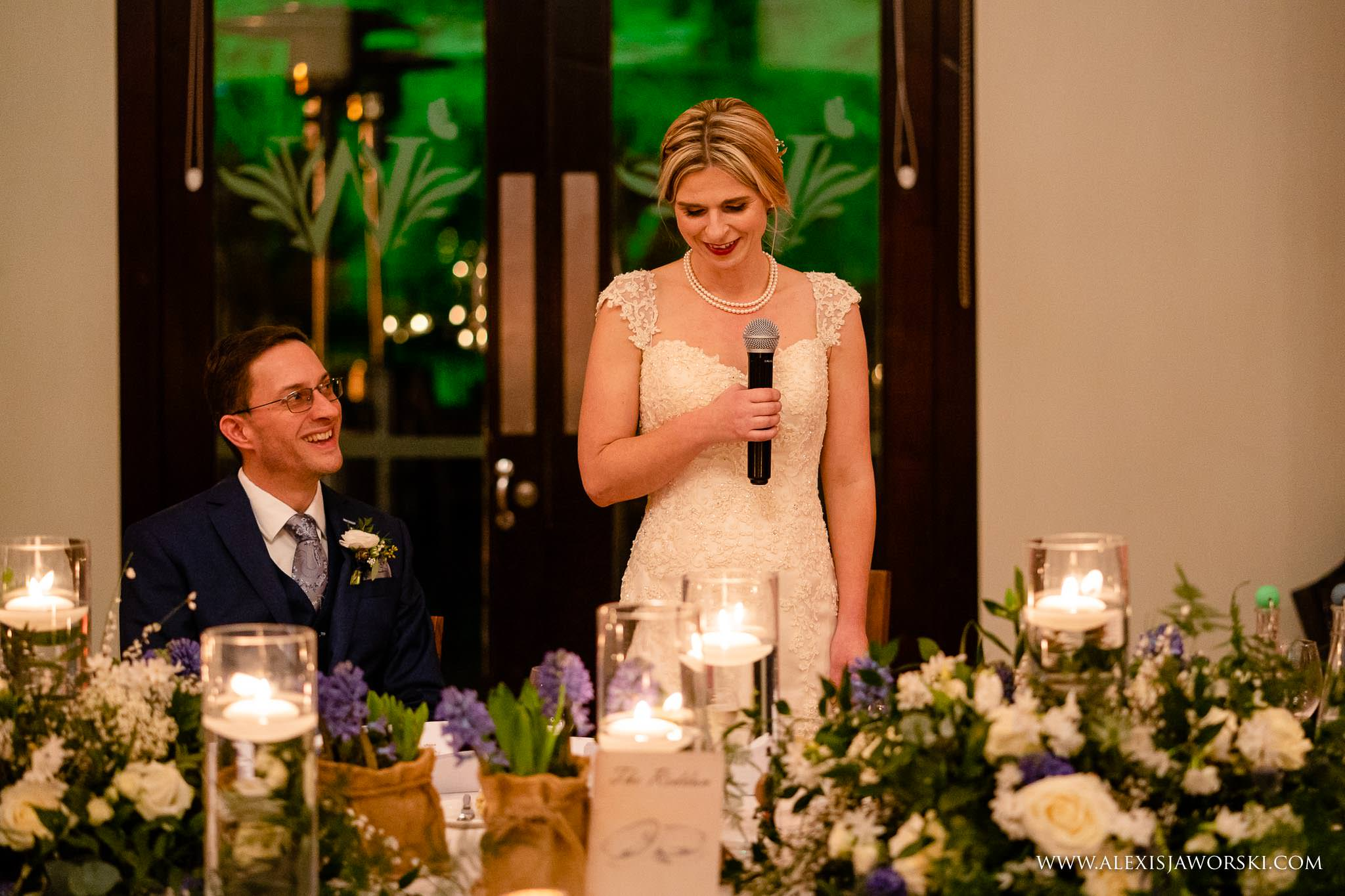 speeches in the evening