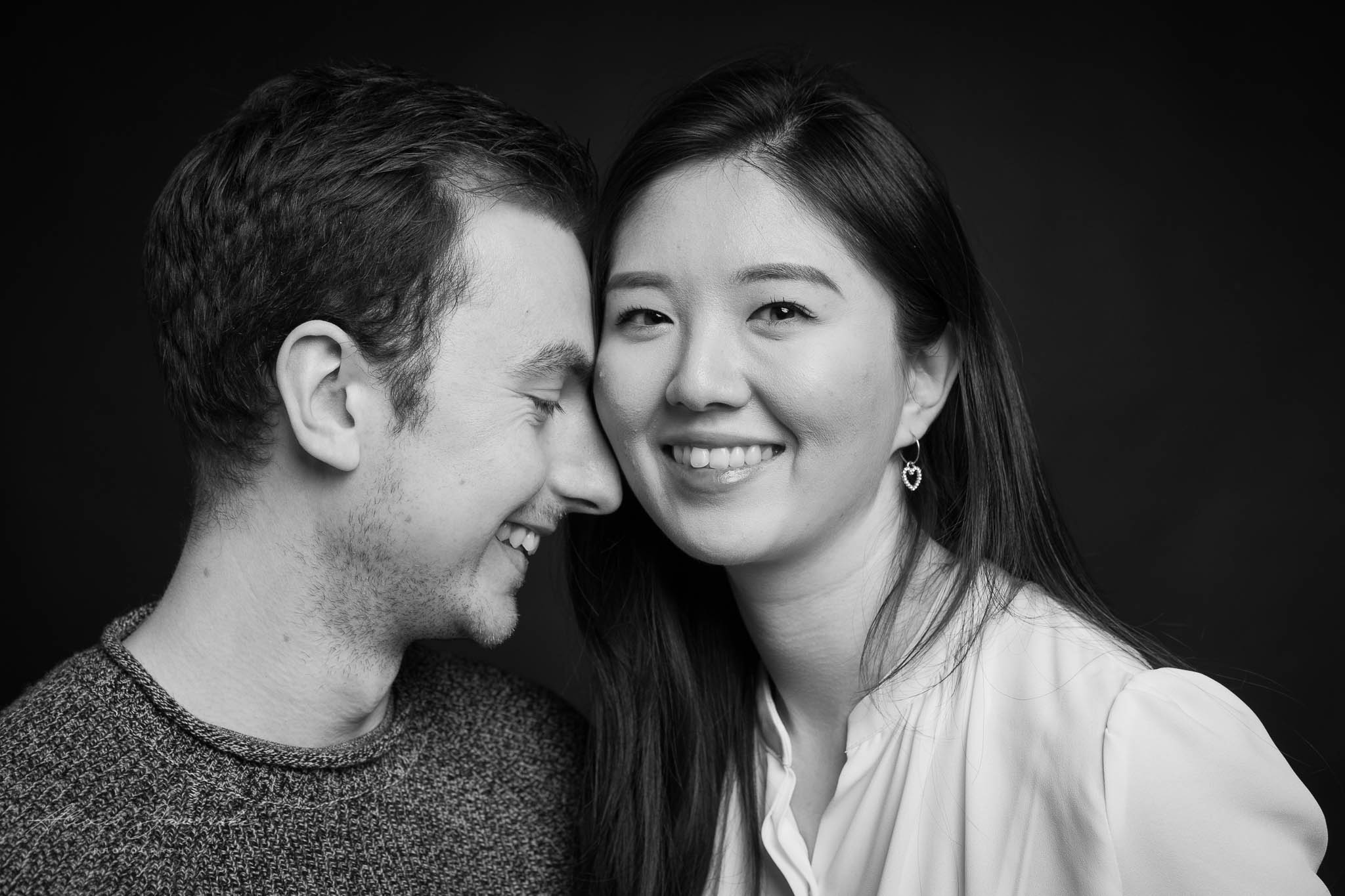 Happy couples portraits